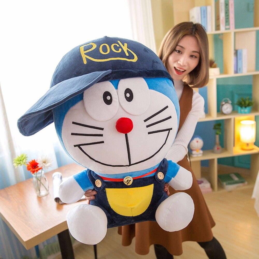 1pc 30/40cm Hot Anime Doraemon Plush Cute Cat Doll Soft Stuffed Animals Pillow Baby Toy Kids Baby Gifts Doraemon Hat Figure Toy