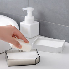 Punch-Free Soap Box Kitchen Tools Bathroom Accessories Soap Dish Suction Holder Storage Basket Soap Box Stand(China)