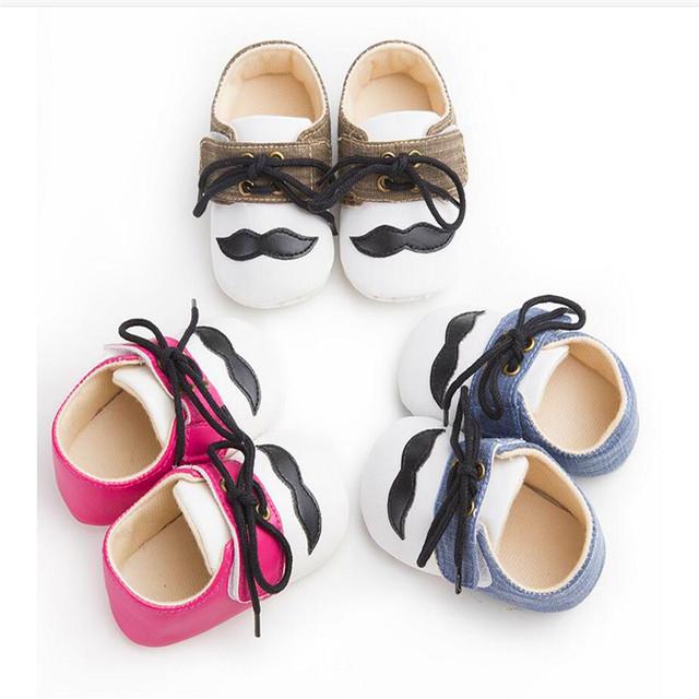 SexeWara Bebé zapatos de suela suave zapatos de Encaje zapatos de Bebé pediátrica Barba niño