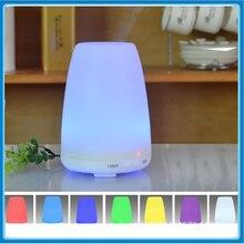 100 мл 7 цвета свет ультразвуковой увлажнитель воздуха электрический ароматерапия эфирное масло аромат диффузор 110 В — 240 В ас / ес / великобритания / нам подключить
