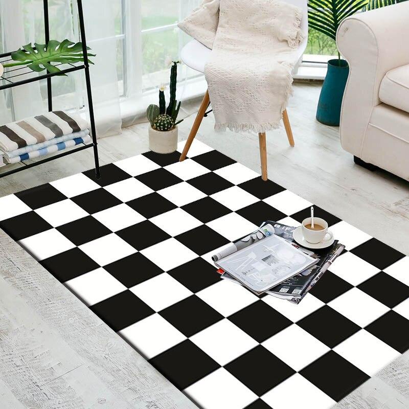 carpets for living room Yoga mat soft blanket Nordic style 3D RHT#54(China)