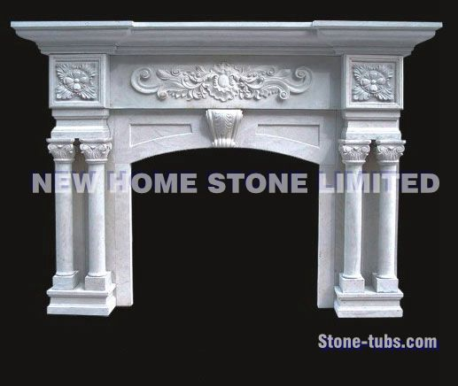 Fireplace mantels pictures 4 corbel legs with a classical garland design in  the center white marble 891c1e94d7