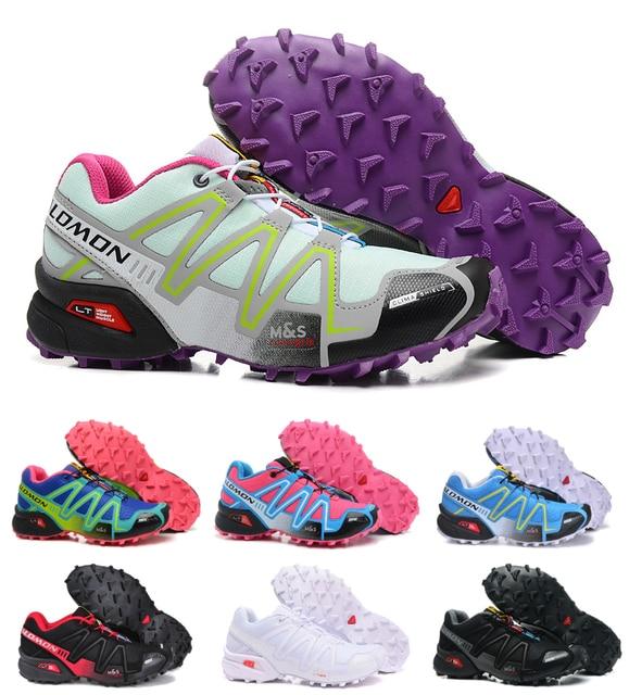 9c068ab4d4c6 Salomon Speed Cross 3 CS Breathable Comfortable Walking Sneakers Speedcross  3 Light Running Women Shoes 36-41 Free Shipping