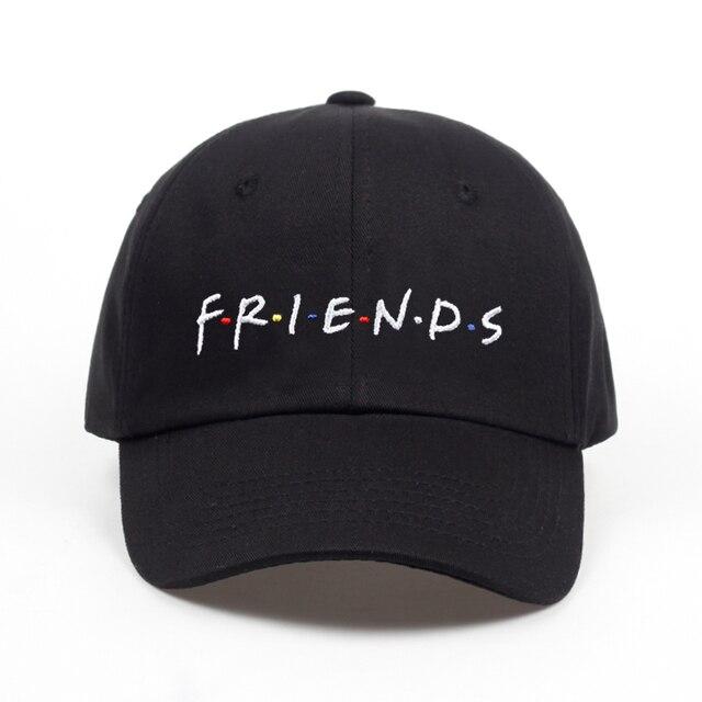 823790ef8eb4 € 4.46 17% de DESCUENTO|Aliexpress.com: Comprar 2018 nueva llegada amigos  carta bordado gorra de béisbol de las mujeres del sombrero del snapback ...
