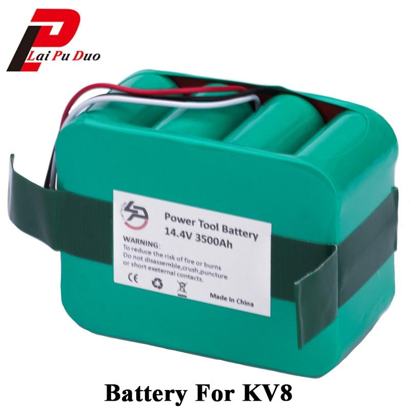 14.4V 3500mAh Ni-MH Vacuum Cleaner battery for KV8 Cleanna XR210 XR510 series XR210A XR210B XR210C XR510A XR510B XR510C XR510D цена