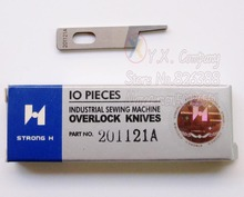1 piece High quality 201121A STRONG H Upper Knife  for PEGASUS Overlock Industrial sewing machine