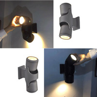 10W/20W Led modern and simple outdoor wall lamp outdoor courtyard lamp turns to corridor balcony lamps and lanterns