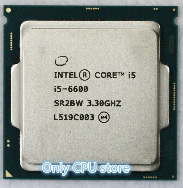 Intel Core i5 6600 3,3 ГГц 6 Мб кэш памяти, четырехъядерный процессор, настольный процессор LGA1151 intel core i5 6600 intel core i5core processor   АлиЭкспресс