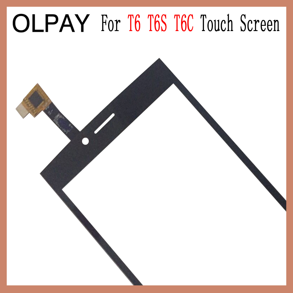 Image 3 - OLPAY 5.0'' Touch Glass Panel For THL T6 T6S T6C Touch Screen Digitizer Glass Sensor Tools Free Adhesive+Clear Wipes-in Mobile Phone Touch Panel from Cellphones & Telecommunications