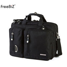 17 18.4 Inch Multi-function Laptop Backpack Messenger Shoulder Bag Briefcase for Dell Alienware / Macbook / Lenovo , Travelling(China)