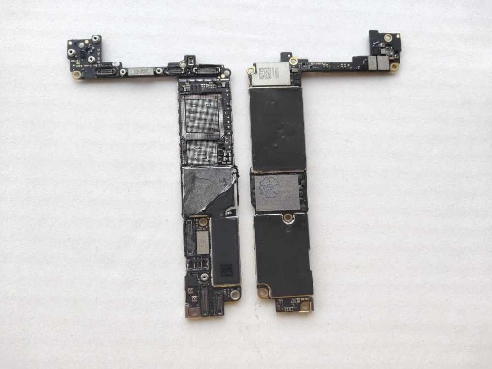 For iPhone 7 7G i7 For Intel Version  32GB Used iCloud Board Motherboard Mainboard logic board Drilled CPU Baseband via CNC
