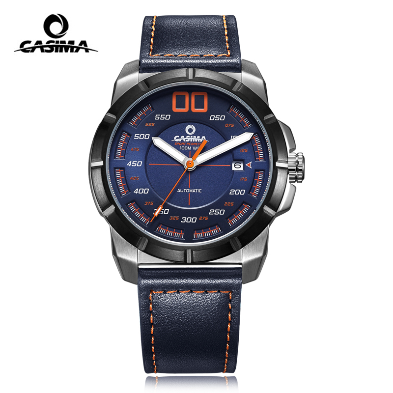 New Design Luxury Brand CASIMA Automatic mechanical Men Watch montre homme Sport Waterproof Male Watch reloj hombre relogio jaragr fashion square dial men s day month automatic mechanical watch reloj male wristwatch montre homme