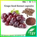 Cápsulas de Extracto de semilla de Uva de alta calidad, en el suministro a granel 500 mg * 900 unids/lot envío libre
