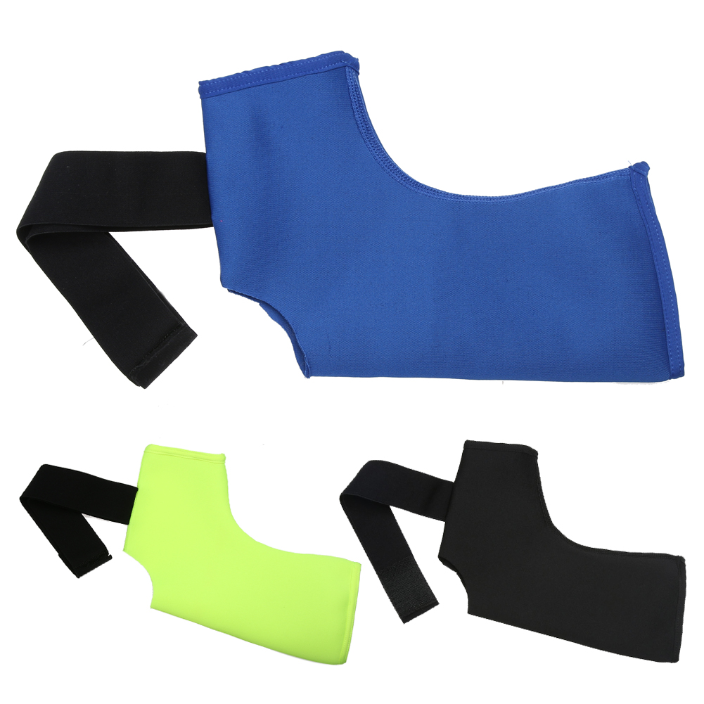 Outdoor Unisex Sports Safety Basketball Breathable Compression Strap Achilles Tendon Brace Sprain Protector Ankle Support M-XL