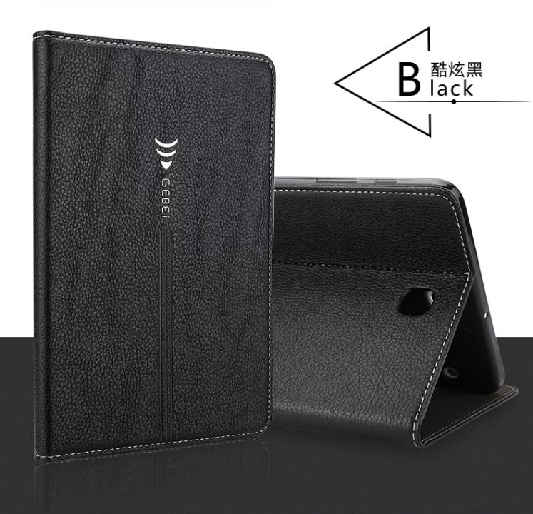 Gebei JinCan Smart Cover For Samsung Galaxy Tab A 9.7 inch T550 T555 P550 Tablet Case Protective shell soft tpu back cover case
