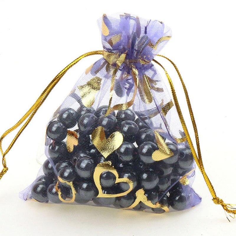 light purple-gold heart