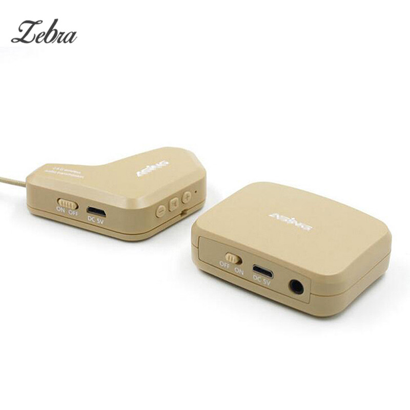 Zebra Beige Wireless Instrument Eletronic Pickup Microphone Musical Instruments Accessory for Violin Guitar Parts Zither beige