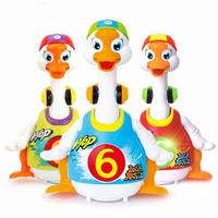 LeadingStar Baby Kids Dancing Goose Duck Walking Electronic Toys with Music Voice Control Learning Educational Toys for Children