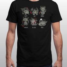 Сегодня Беззубик ощущает, Как приручить дракона, рубашка, размер S, мультяшная футболка, Мужская Унисекс, новая модная футболка, свободный размер, топ, ajax