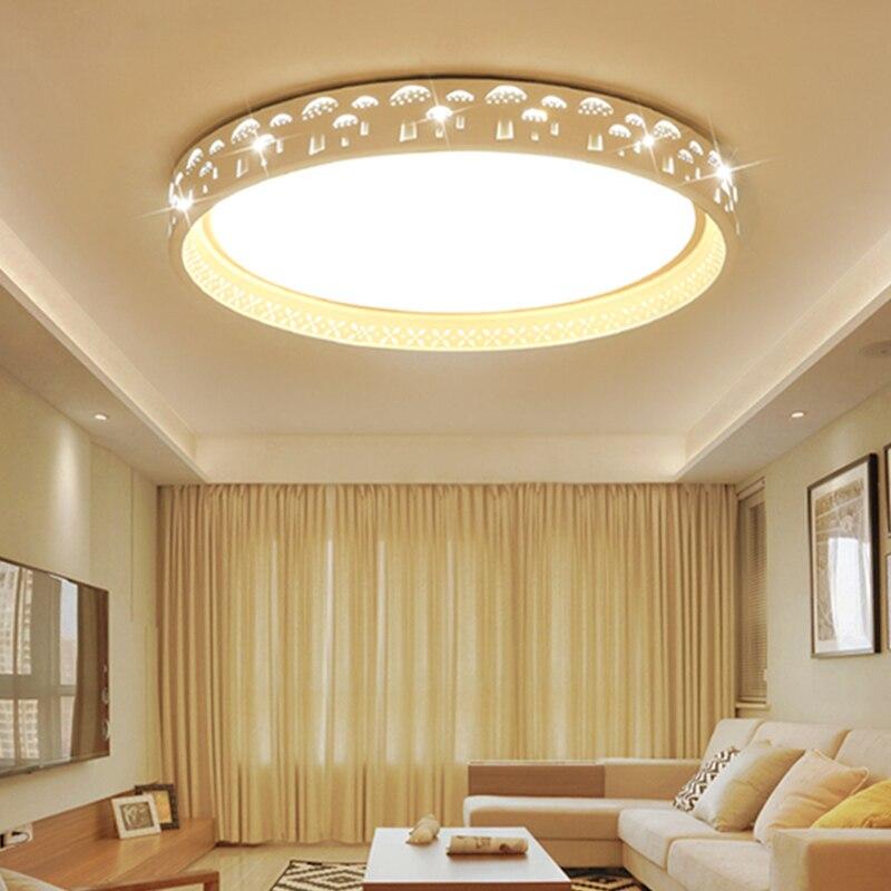 Здесь можно купить  Round Tree Shade Indoor Chandelier Home AC85-265V Modern Led Ceiling Chandelier Lamp Fixtures For Living Room Bedroom  Свет и освещение