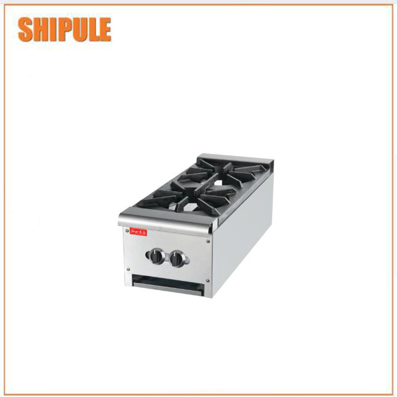 kitchen appliances double burner gas stove MST-2 cookers for sale gas six burner noodle boiling stove for hotel kitchen equipment