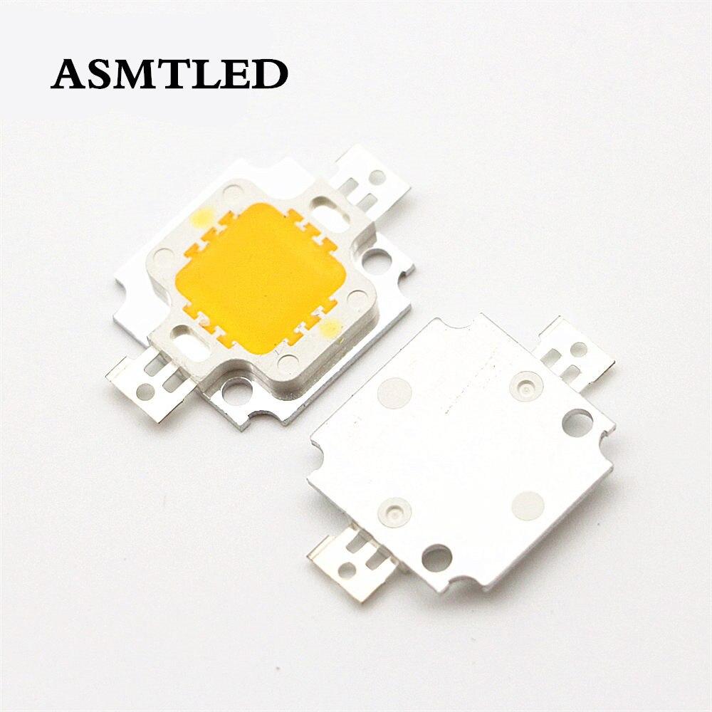 12V - 15V 10W High Power Integrated LED Lamp Chips SMD Bulb For DIY Floodlight Spot Light White/Warm White/Red/Green/Blue/Yellow