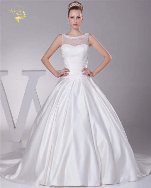 Jeanne Love Sweetheart Wedding Dresses 2018 New Lace Wedding Gowns ...