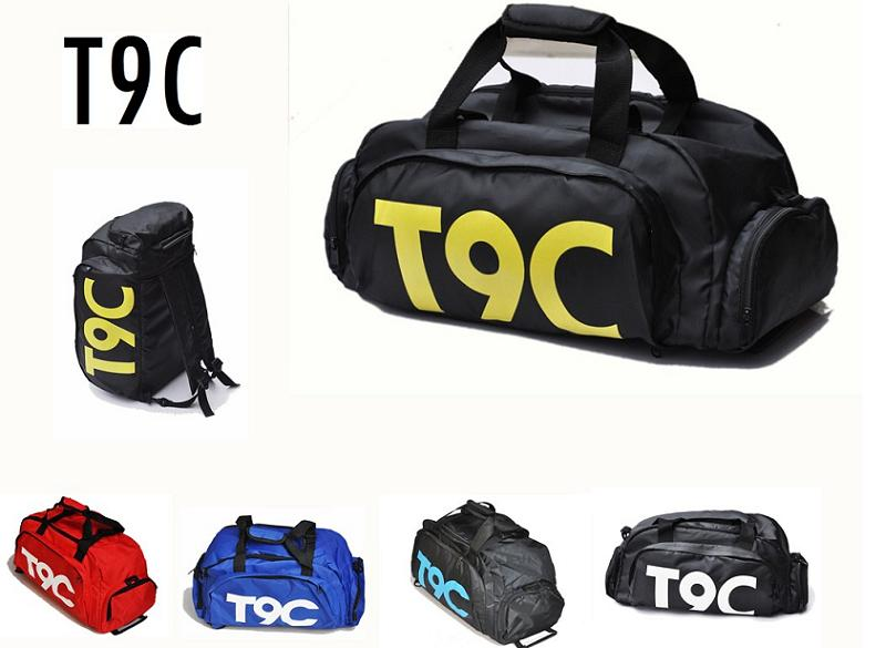 T9C Sports-Bag Pouch Separate-Space Fitness Gym Women Backpack Rucksack Shoes Outdoor