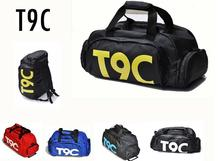 Brand New Sports Bag Gim Wanita Kecergasan Kalis air Luar Ruang berasingan Untuk Kasut kantung rucksack Sembunyikan ransel lelaki sac de T9C