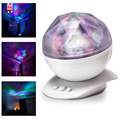 BEST Aurora Light  Color Changing LED Light Lamp Aurora Star Borealis Projector Kid Speaker Night Sky