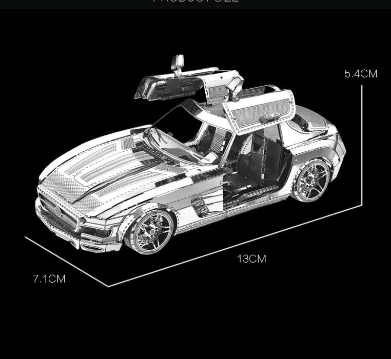Rompecabezas modelo de metal 3D Multi-estilo Rompecabezas DIY - Juegos y rompecabezas - foto 2