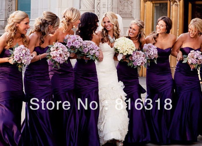 Online Get Cheap Eggplant Bridesmaids Dresses -Aliexpress.com ...