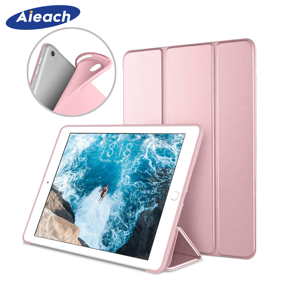 For IPad Pro 10.5 Case 2017 Smart Soft Silicone PU Leather Trifold Stand Cover For IPad Pro Case 10.5 With Auto Sleep/Wake Up