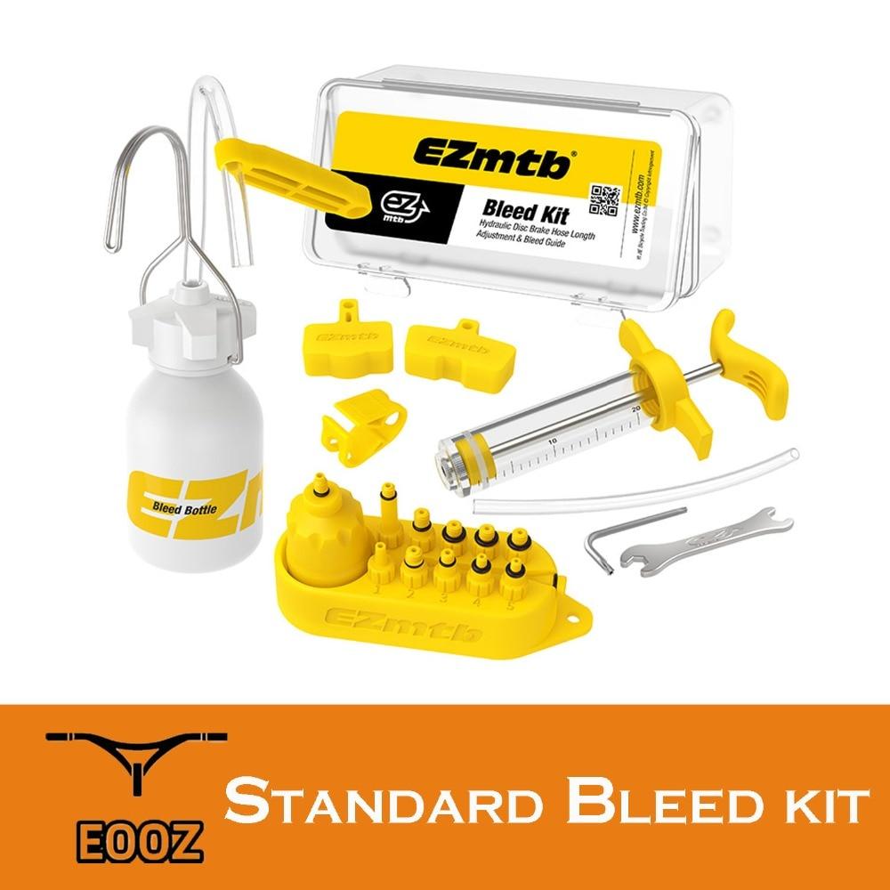 Bike Bicycle Hydraulic Disc Brake Bleed Kit Tool for Shimano Tektro Magura SD