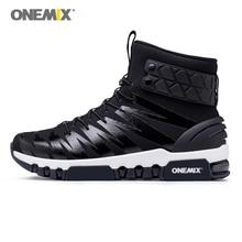 Onemix/мужские кроссовки для бега, женские кроссовки, мужские высокие ботинки для прогулок, походные кроссовки, большие размеры