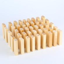 3 kinds Size 54 PCS/set Original wood Jenga Puzzle Board Game Family/Party Best Gift for Children Funny Building Blocks Game