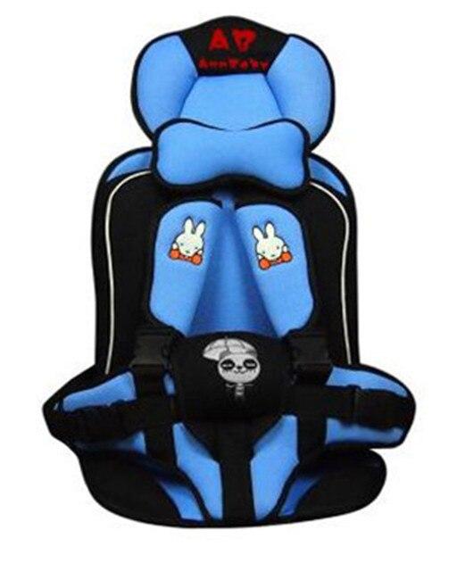 Для Безопасности ребенка 0-6 Лет Ребенок Сидит Автокресло Портативный Baby Autositting Утолщение Губка автокресла для Детей