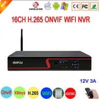 5mp/4mp/3mp/2mp/1mp IP Kamera Rot Panel Hi3536D XMeye 5mp Audio H.265 + NVR 16CH 16 Kanal Onvif IP WIFI NVR Kostenloser Versand