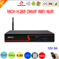 5mp/4mp/3mp/2mp/1mp IP Camera Red Panel Hi3536D XMeye 5mp H.265 NVR 16CH 16 Channel Onvif IP WIFI NVR Free Shipping