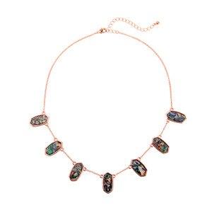 Женское овальное ожерелье-нагрудник ZWPON, дизайнерское ожерелье с овальным нагрудником, оптовая продажа, 2019
