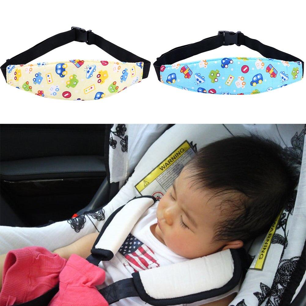 Baby car seat sleep positioner adjustable safety seats doze sleep harness sleeping artifact baby head support