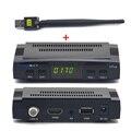 V7 Freesat HD Receptor de Satélite Apoyo Cccam cline cccc PowerVu Llave Biss YouPorn Dvb-s2 1080 P Receptor Con 1 UNID USB WiFi