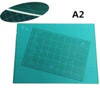 New Pvc Rectangle Self Healing Thicker Cutting Mat Desktop Protection Mat A2 Craft Dark Green 60cm