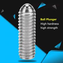 Carbon Steel Spring Plunger Ball Hex Bolt Socket Fixing Screws Positioning Bead M3-M12