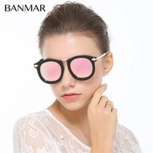 BANMAR Mujeres gafas de Sol HD Polarizado UV400 Vintage Flecha Femenina Sol gafas Gafas De Sol Feminino Gafas de Sol Con la Caja BM8684