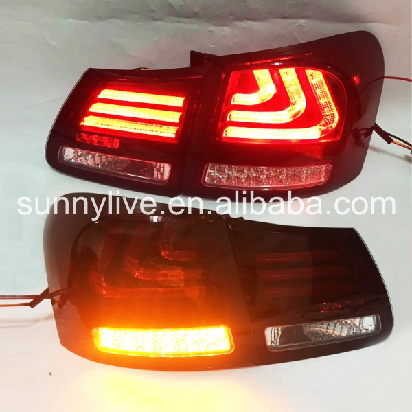 or Lexus for GS300 GS350 GS430 GS450 2006-2011 year Taillights Red white Color SN free shipping for car rear lamp for lexus for is 250 for is350 led taillights year 2006 2014