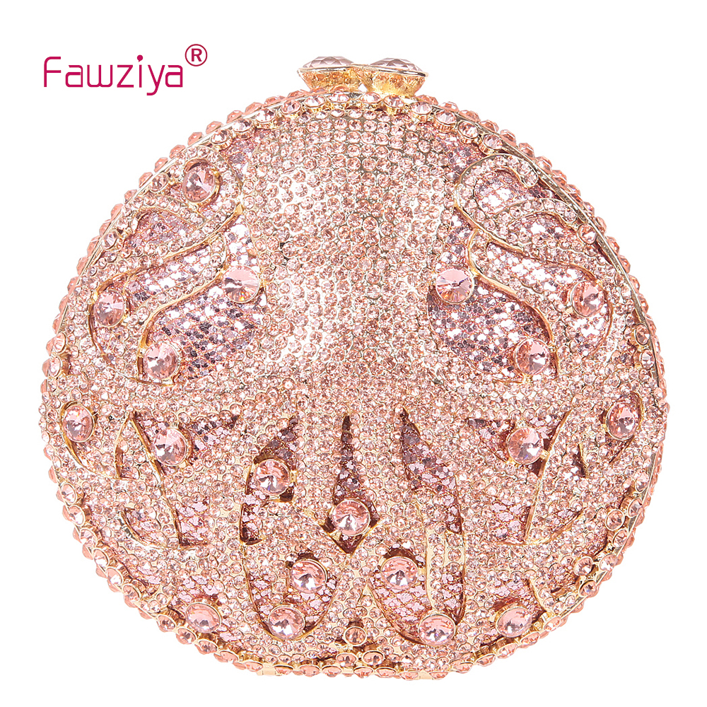 Fawziya Mini Purse Party Octopus Evening Clutch Purses For Women Rhinestone Crystal Clutch Bag fawziya apple clutch purses for women rhinestone clutch evening bag