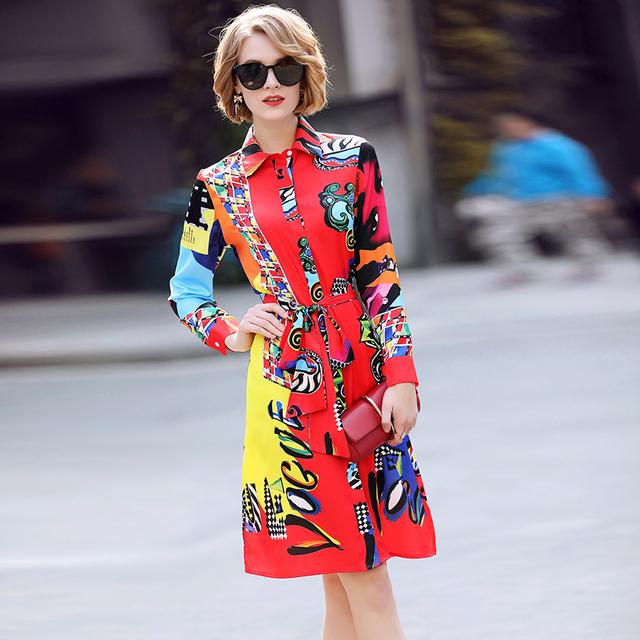 Casual Bohemian Shirt Dress
