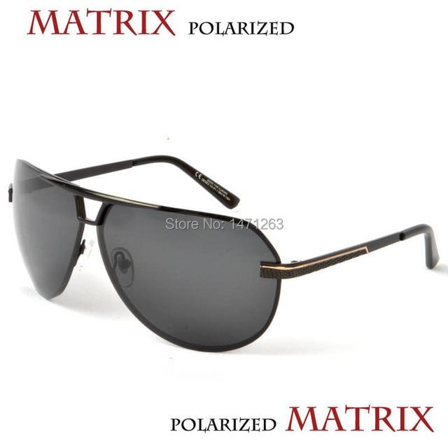 947c15a67b Polarized sunglasses 08363 MATRIX Men s classic style lenses have UV and  polarizing function free