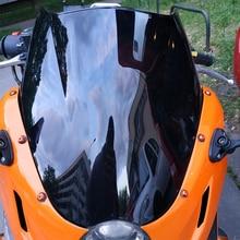 Мотоцикл двойной пузырь лобовое стекло ветер экран для 2005-2008 2009 2012 Hyosung GT125R GT250R GT650R GT 125 250 650 R